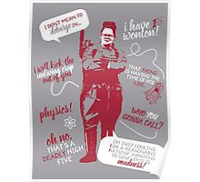 abby yates quotes Poster