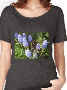 Grape Hyacinth -make a good border Women's Relaxed Fit T-Shirt