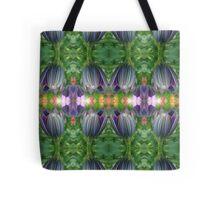 Closed Osteospermum Pattern Tote Bag