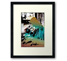 Blues Pendulum Framed Print