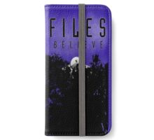 I want to Believe! iPhone Wallet/Case/Skin