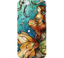 Under the Sea - Serenity (Right mermaid) iPhone Case/Skin
