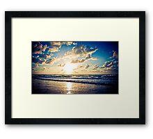 Peaceful Beginning Framed Print
