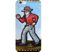 cowboy/gunfighter iPhone Case/Skin