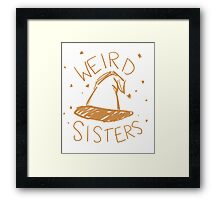Weird Sisters Harry Potter band Framed Print
