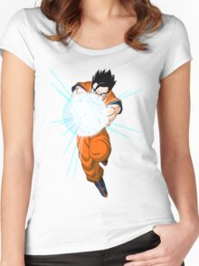 1 gohan Women's Fitted Scoop T-Shirt
