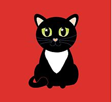 Only One Black and White Cat by Jean Gregory  Evans