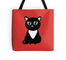 Only One Black and White Cat Tote Bag