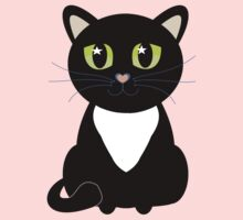 Only One Black and White Cat Kids Clothes