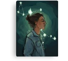 Sirius Black in the Constellation Canis Major Canvas Print