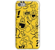 Graphic Glubees iPhone Case/Skin