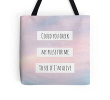 """Sleeping With Sirens - """"Alone"""" Tote Bag"""