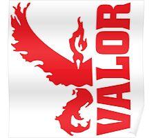 Vertical Team Valor Poster