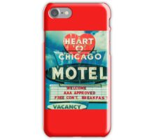 Heart Chicago Motel iPhone Case/Skin
