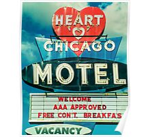 Heart Chicago Motel Poster