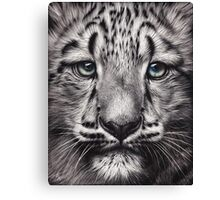 Snow baby Canvas Print