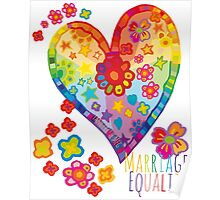 Marriage Equality - All You Need is Love Poster