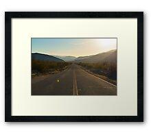 Highway 78, San Diego County, California Framed Print