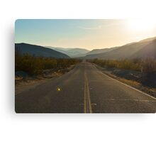 Highway 78, San Diego County, California Canvas Print