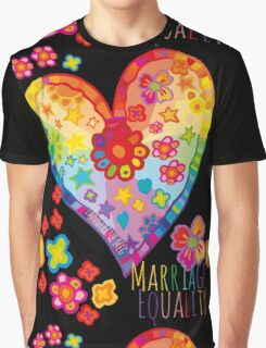 Marriage Equality - All You Need is Love Graphic T-Shirt