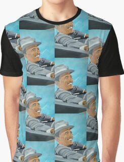 Hand painted Obama Graphic T-Shirt