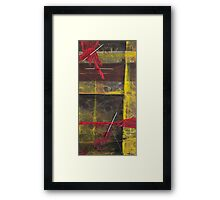 Makers Rectangle Framed Print