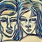 Reciprocal Nurture - Version 3 by Anthea  Slade