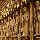 Choir Screen, York Minster by Tania  Donald