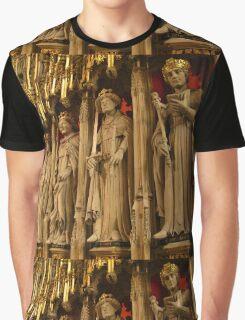 Choir Screen, York Minster Graphic T-Shirt