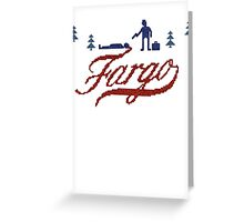 'Fargo' Greeting Card