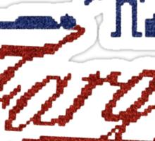 'Fargo' Sticker