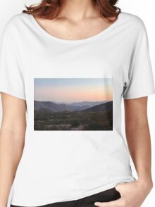 Horsethief Creek, Cleveland National Forest, California Women's Relaxed Fit T-Shirt