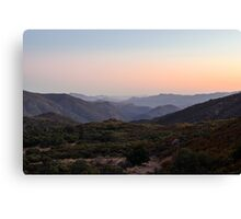 Horsethief Creek, Cleveland National Forest, California Canvas Print
