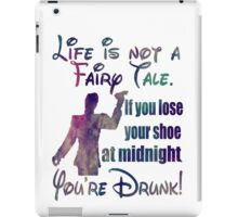 Life is not a fairy tale  iPad Case/Skin