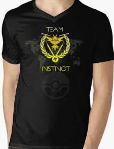Team INSTINCT - Pokemon Go Mens V-Neck T-Shirt