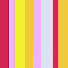 Striped Color in Pastels by EloiseArt
