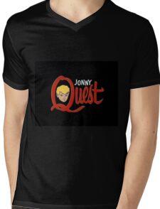 Johnny Quest Mens V-Neck T-Shirt