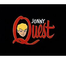 Johnny Quest Photographic Print
