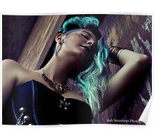 Courtney Glitch Steampunk Poster