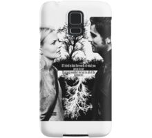 Captain Swan Black and White Samsung Galaxy Case/Skin