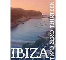 Ibiza TwoZeroThirteen Photographic Print