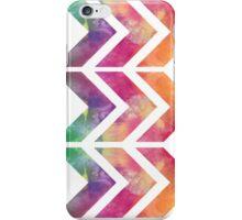 Watercolor Chevrons iPhone Case/Skin