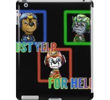 Yelp for help iPad Case/Skin