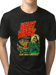 BEAST WRECK ATTACKS! Tri-blend T-Shirt