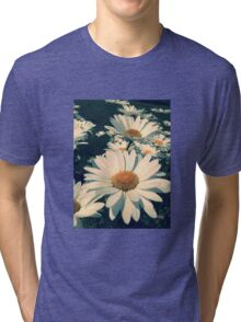 Field of white 2  Tri-blend T-Shirt