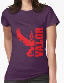 Vertical Team Valor Womens Fitted T-Shirt