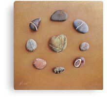 """Stone letters"" Canvas Print"