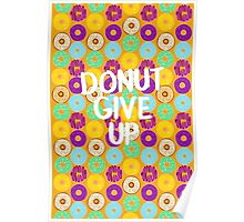 Donut Give Up! Poster