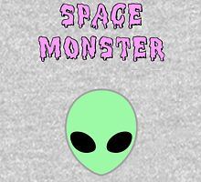Space Monster Womens Fitted T-Shirt