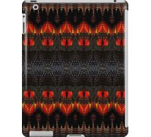 Red-Tailed, Black Cockatoo Feathers iPad Case/Skin